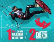 Saint-Pierre accueillera la 1ère Coupe du Monde junior de kitesurf freestyle