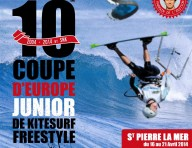 10ème Coupe d'Europe de Kitesurf Freestyle à Saint-Pierre la Mer