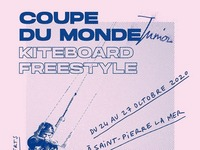 5 ÈME COUPE DU MONDE JUNIOR KITEBOARD FREESTYLE