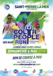 COLOR PEOPLE RUN SAINT-PIERRE LA MER